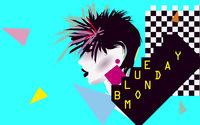 Dieses Bild zeigt den Flyer des Events blue monday 80ies & indie pop