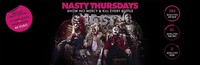 Dieses Bild zeigt den Flyer des Events Nasty Thursday