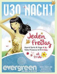 Dieses Bild zeigt den Flyer des Events Ü30 Nacht