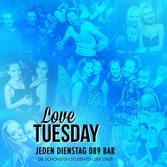 This picture shows the flyer for the event Love Tuesday
