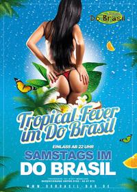 Dieses Bild zeigt den Flyer des Events Tropical Fever