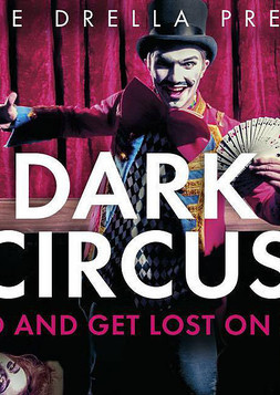This picture shows the flyer for the event Dark Circus