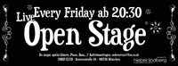 Dieses Bild zeigt den Flyer des Events Friday Night Live!
