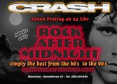 Dieses Bild zeigt den Flyer des Events Rock After Midnight