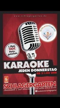 Dieses Bild zeigt den Flyer des Events Karaoke