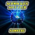 Dieses Bild zeigt den Flyer des Events Schmocko's Soul Club