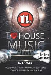 Dieses Bild zeigt den Flyer des Events I Love Housemusic