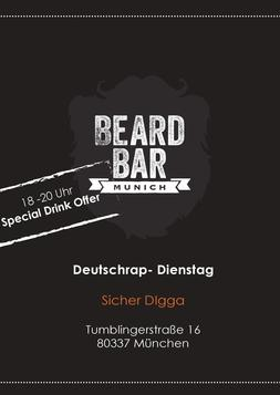 Dieses Bild zeigt den Flyer des Events Deutschrap - Dienstag