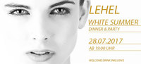 Dieses Bild zeigt den Flyer des Events LEHEL White Summer Party