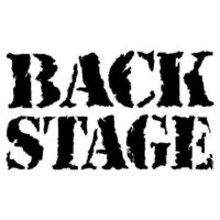 This picture shows the logo of the location Backstage
