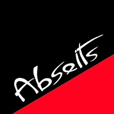 This picture shows the logo of the location Abseits Rockbar