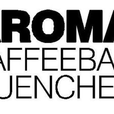 This picture shows the logo of the location AROMA KaffeeBar