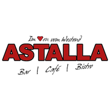 This picture shows the logo of the location Astalla