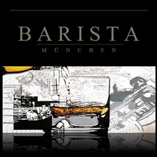 This picture shows the logo of the location Barista