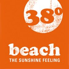 This picture shows the logo of the location beach38º