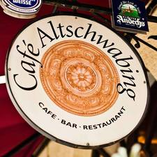 Dieses Bild zeigt das Logo der Location Café Altschwabing