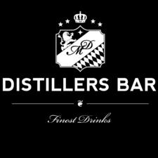 Dieses Bild zeigt das Logo der Location Distillers Bar